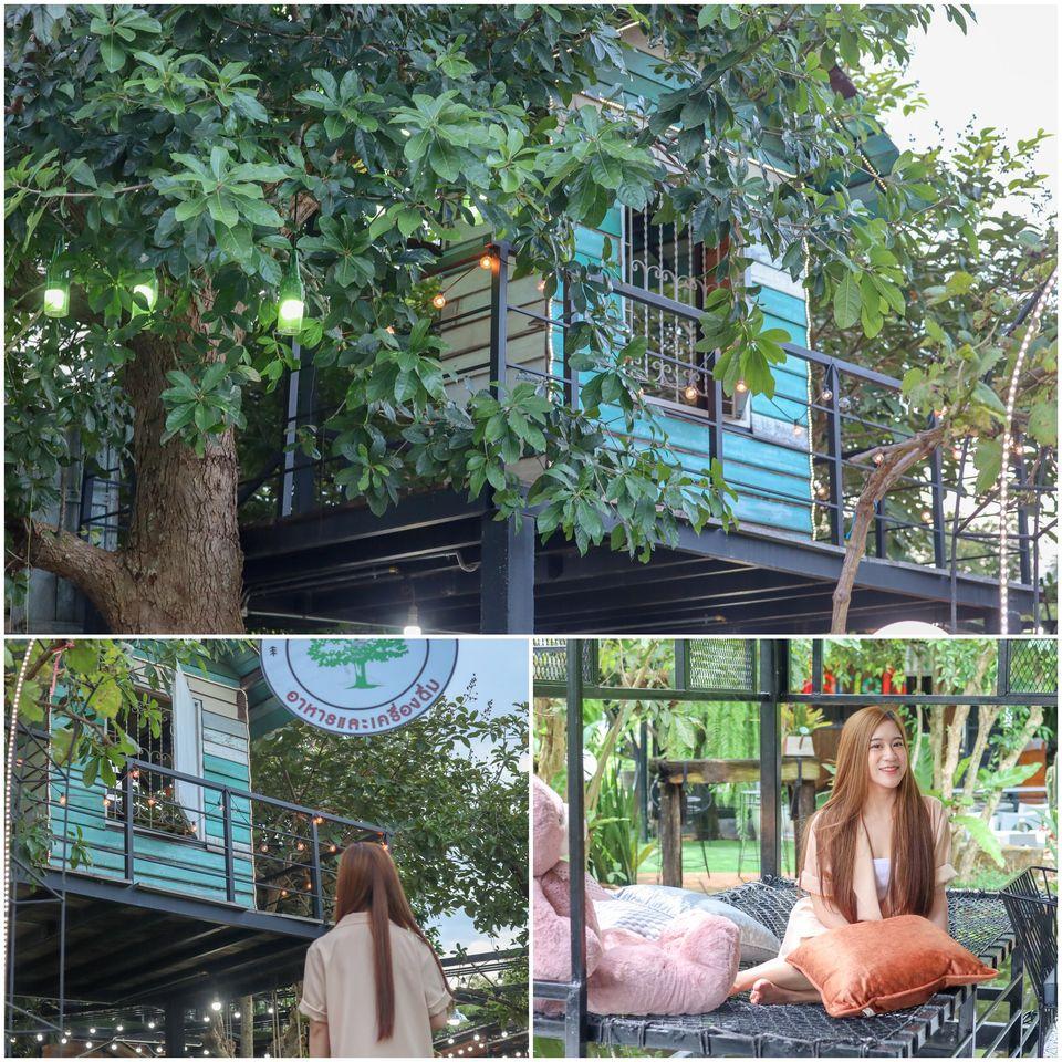 โซนบ้านต้นไม้-สามารถขึ้นไปถ่ายรูปได้เลยครับผม-จัดว่าเด็ดด  จุดเช็คอิน,นครศรี,คาเฟ่,กลางป่า,กลางเมือง