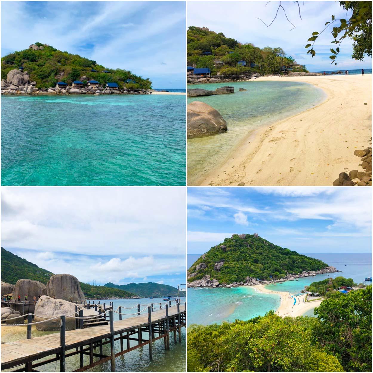 จุดเช็คอินเด็ดๆวิวหลักล้าน เกาะเต่า เกาะนางยวน ทะลน้ำใส่นิ่งสงบกว้างไกลสุดตาสวรรค์ของนักดำน้ำ