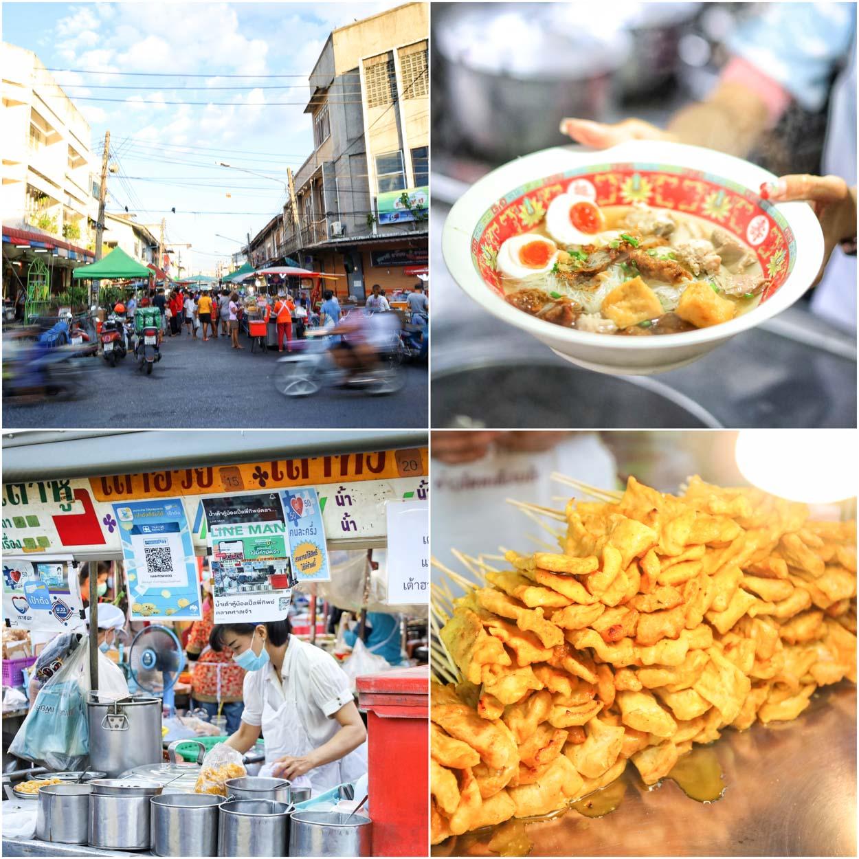 ตลาดศาลเจ้า สุราษฎร์ธานี Street Food อันดับ 1 ของชาวสุราษฎร์ มีแต่ของอร่อย
