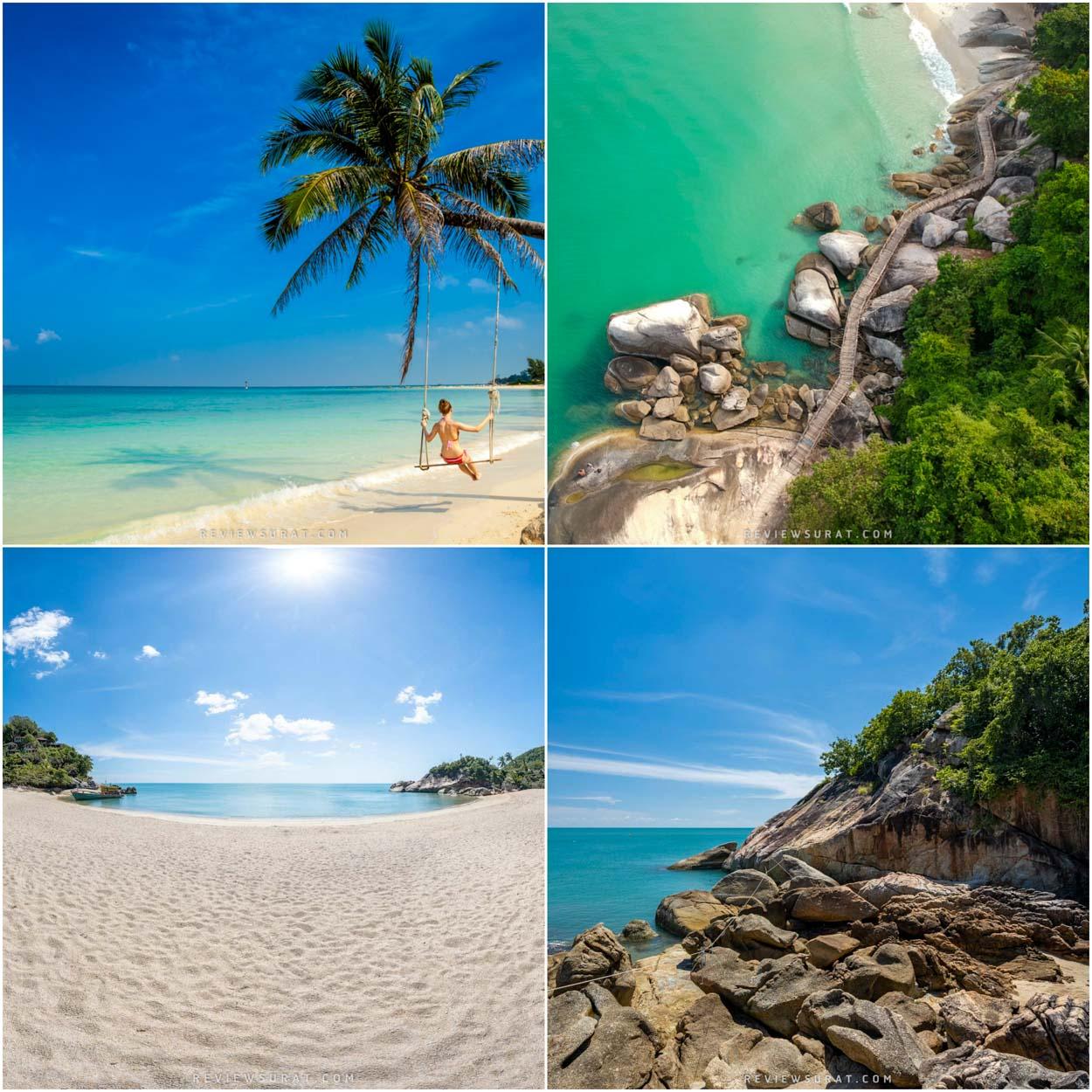 เกาะพะงัน สุราษฎร์ ปักหมุดถ่ายรูปวิวสวยๆ บรรยากาศฟินๆกับทรายสีขาวพลาดไม่ได้แล้วว